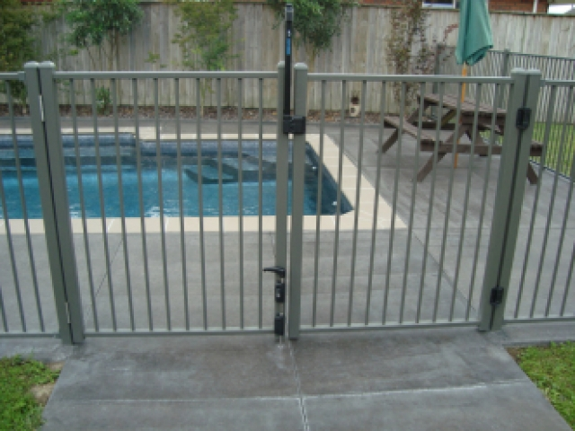16 mm rnd rod double gates